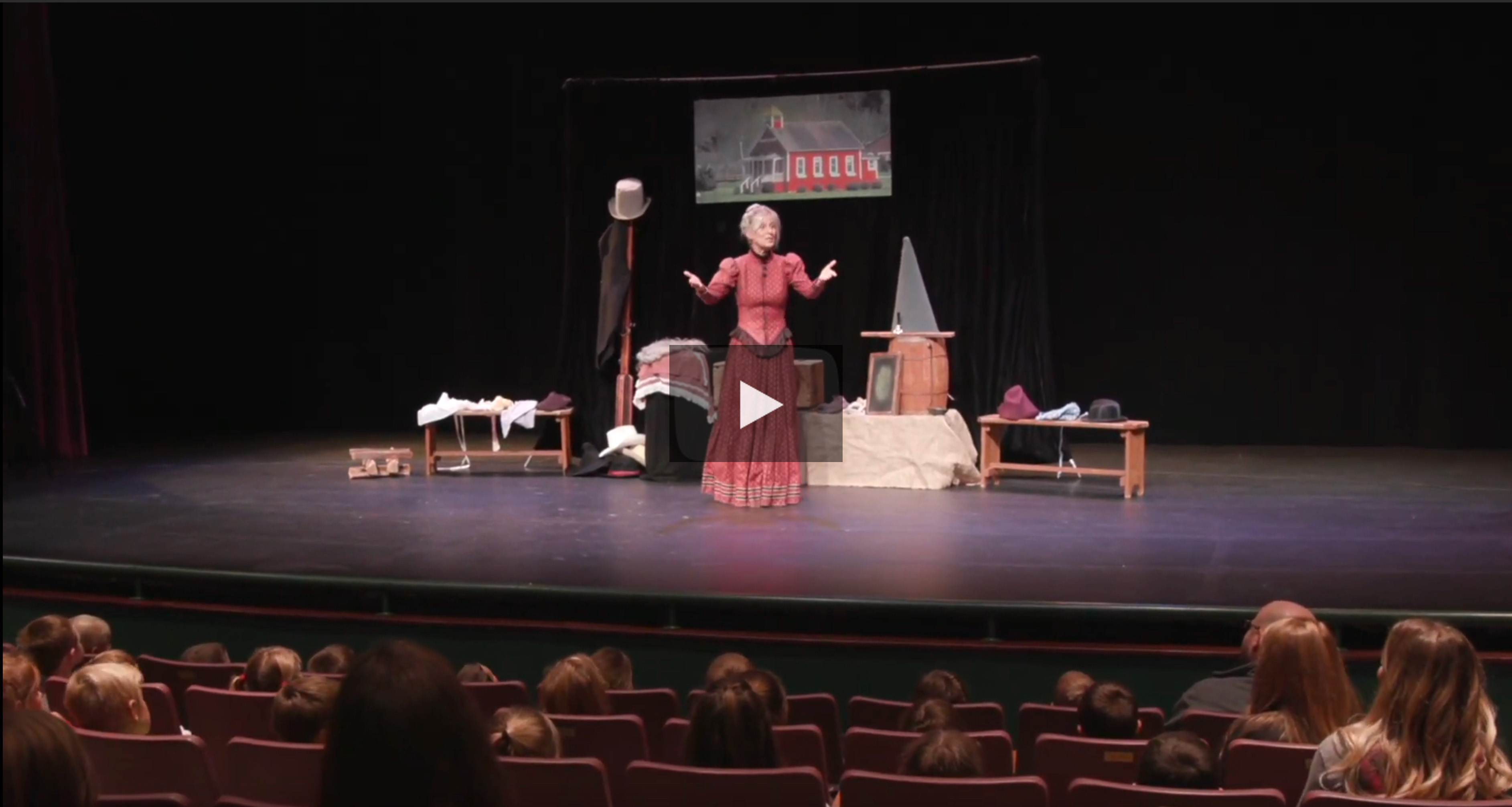 Interactive Theatre – One Room Schoolhouse